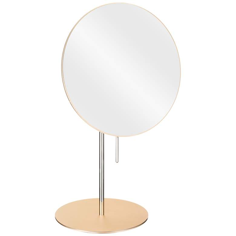 Aptations Cava Champagne 3X Magnified Vanity Makeup Mirror
