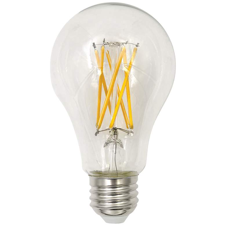 75W Equivalent 8W 3000K LED Dimmable A21 Filament Bulb