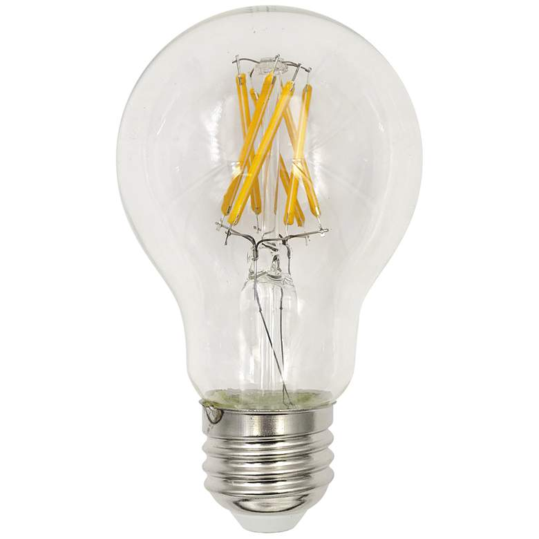 60W Equivalent Clear 7W LED 3000K Dimmable E26