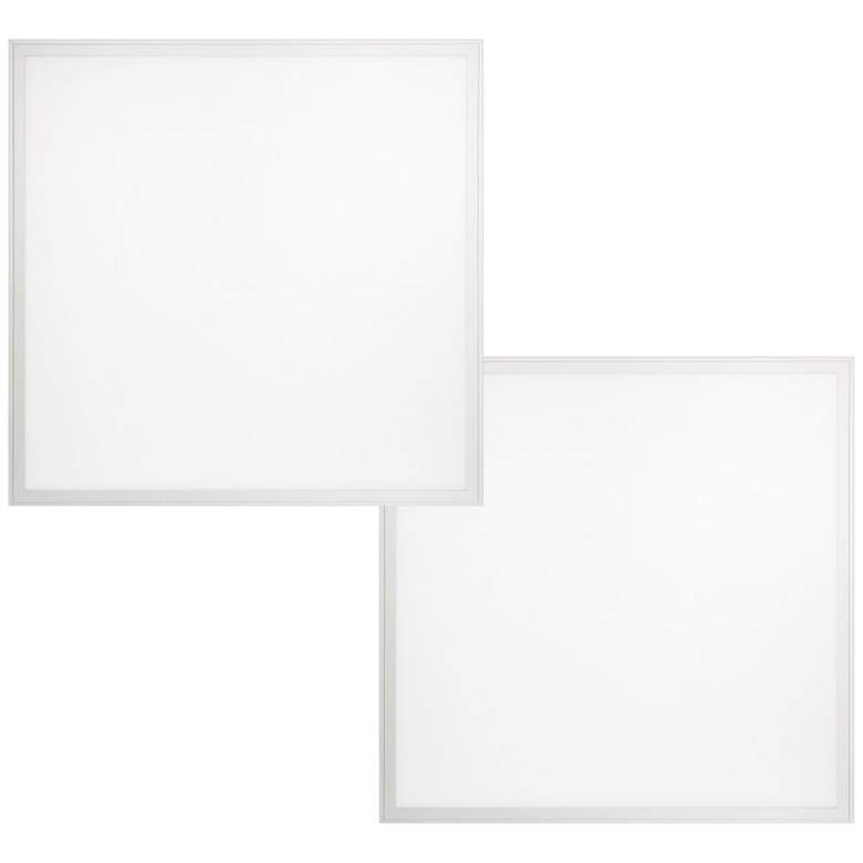 "24"" Square White 4000K LED Flat Panel Light"