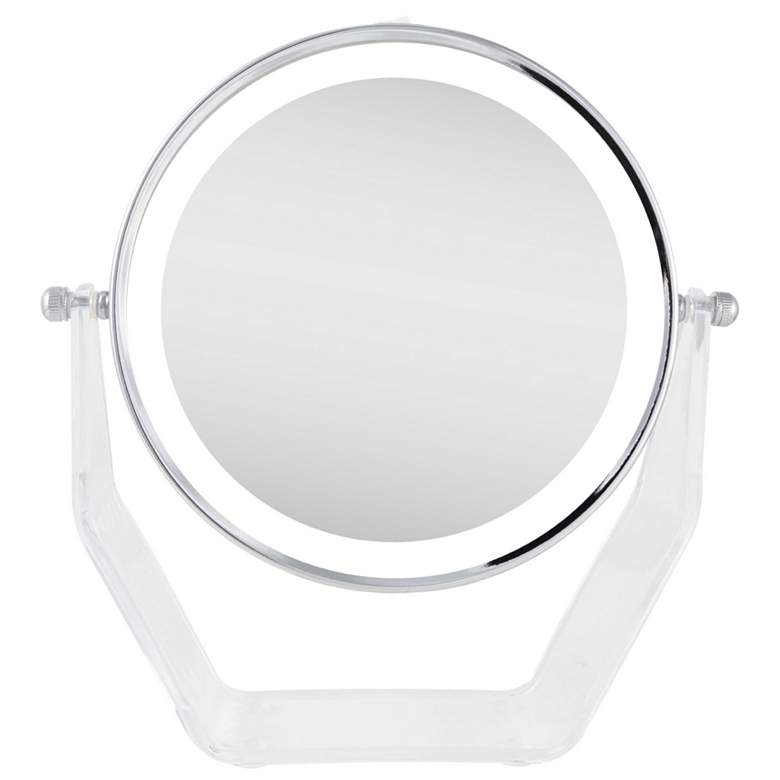 Next Generation Chrome Swivel Led Vanity Mirror 78p61