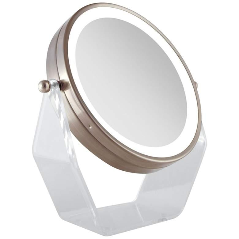 Next Generation® Rose Gold Swivel LED Vanity Mirror