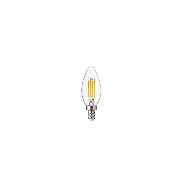 40W Equivalent Clear 4W 12 Volt LED Non-Dimmable E12 Bulb