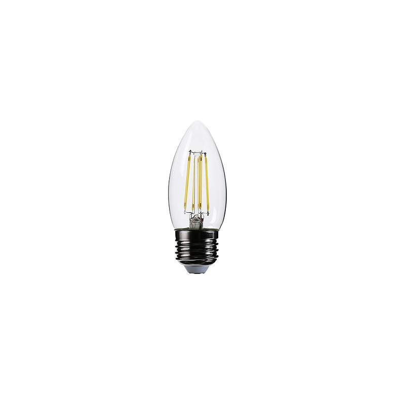 40W Equivalent Clear 4W 12 Volt LED Dimmable E26 Torpedo