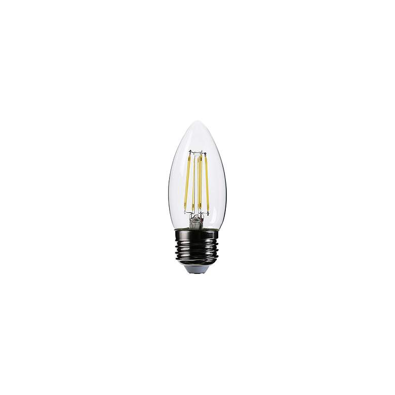 60W Equivalent Clear 5W 12 Volt LED Dimmable E26 Torpedo