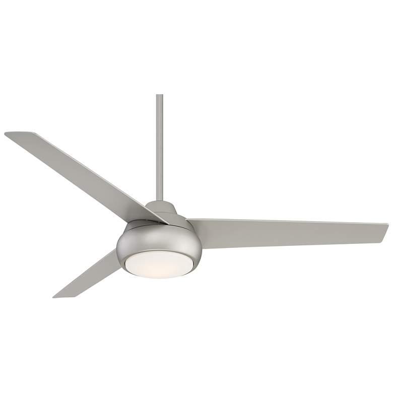 """52"""" Skye Hawk Brushed Nickel Indoor LED Ceiling Fan"""