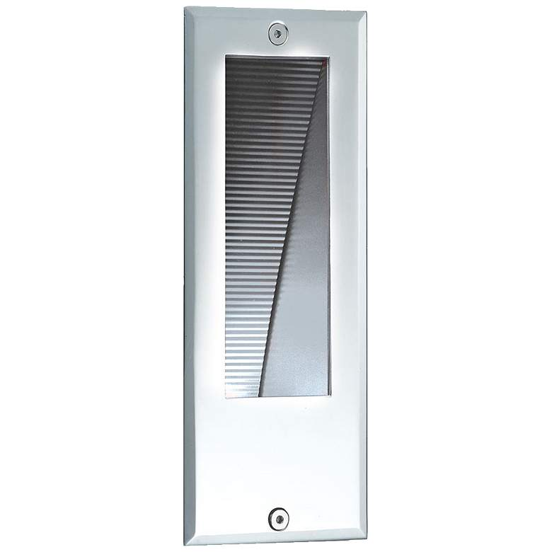 "Eurofase 3 1/4"" Wide Stainless Steel LED In-Wall"