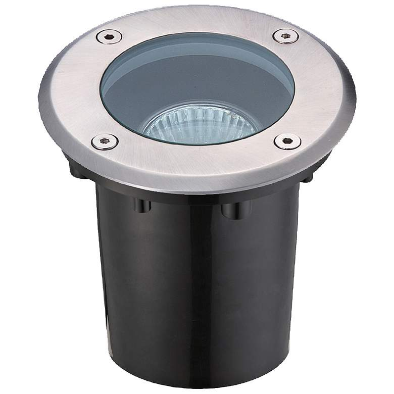 Eurofase Stainless Steel Circular Outdoor In-Ground Light