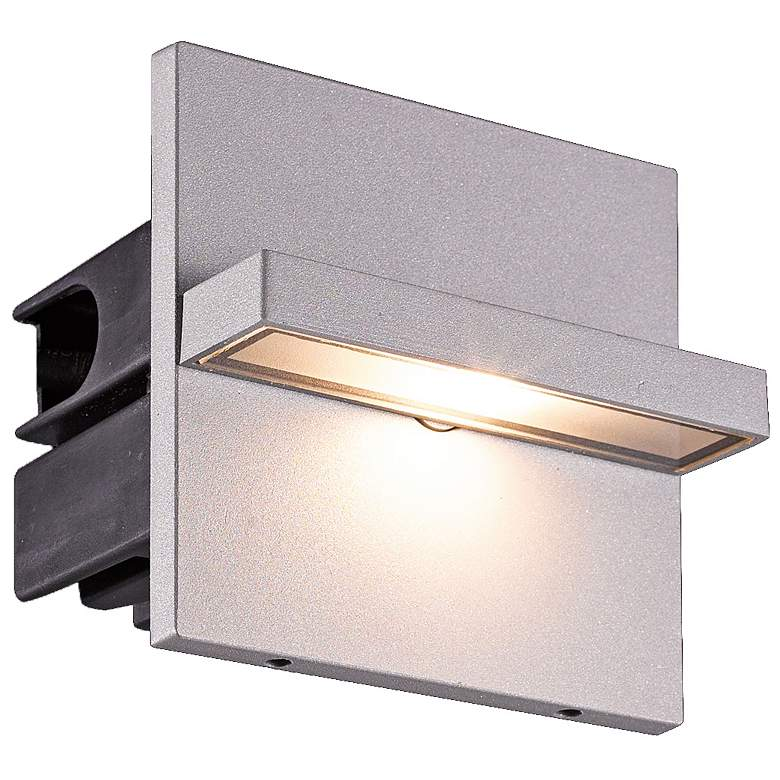 "Eurofase 4 1/4""W Marine Gray Swivel LED In-Wall"
