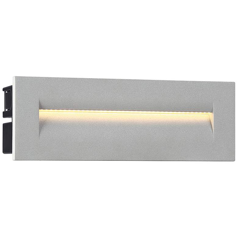 "Eurofase 10""W Marine Gray LED In-Wall Recessed Step"