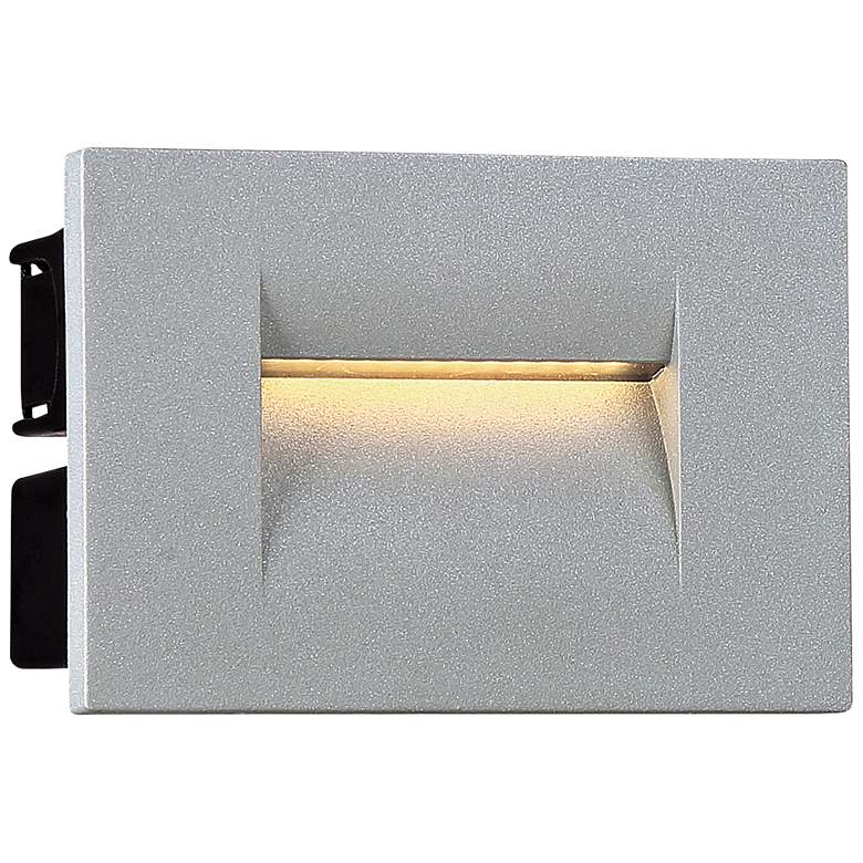 "Eurofase 4 1/4""W Marine Gray LED In-Wall Recessed"