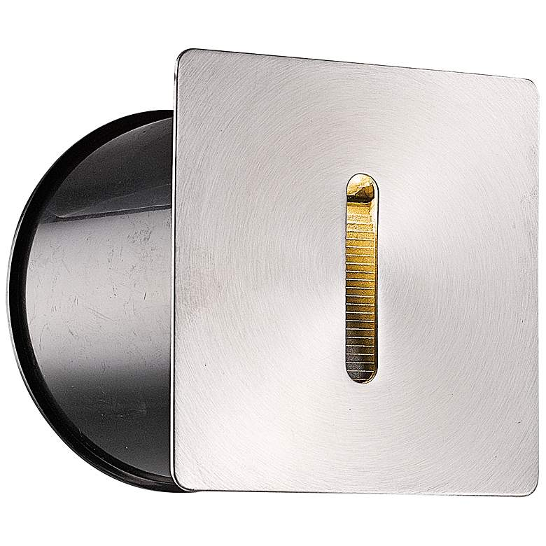 "Eurofase 3 3/4"" Wide Stainless Steel Square LED"