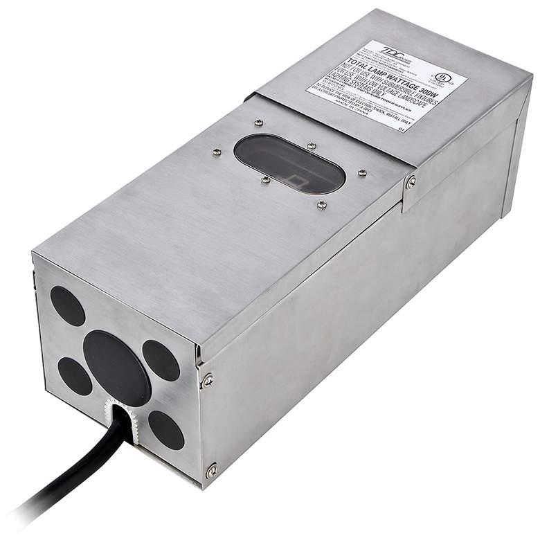 Eurofase Stainless Steel 300 Watt Low Voltage Transformer