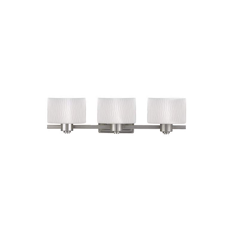 """Pacifica Collection 25"""" Wide Three Light Bathroom Fixture"""