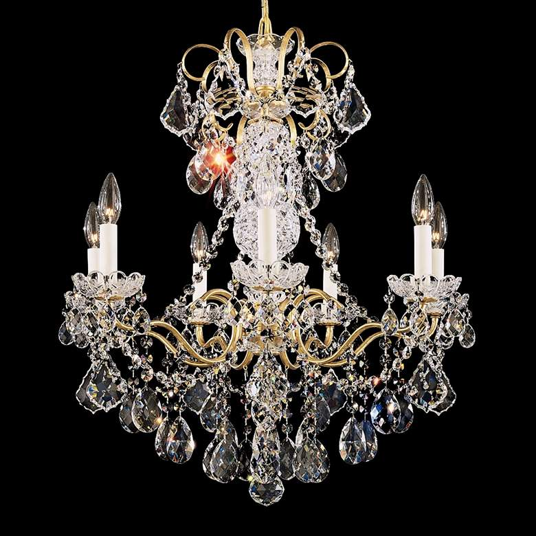 Schonbek New Orleans Collection 24 Wide Crystal Chandelier 79381