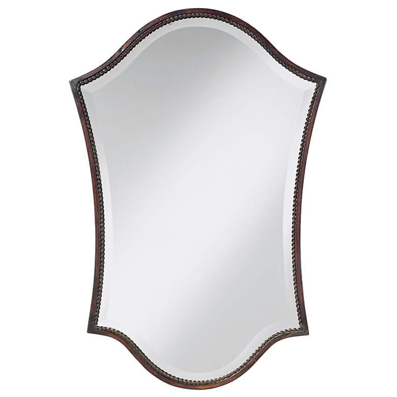 """Uttermost Abra Bronze 20"""" x 30"""" Wall Mirror"""