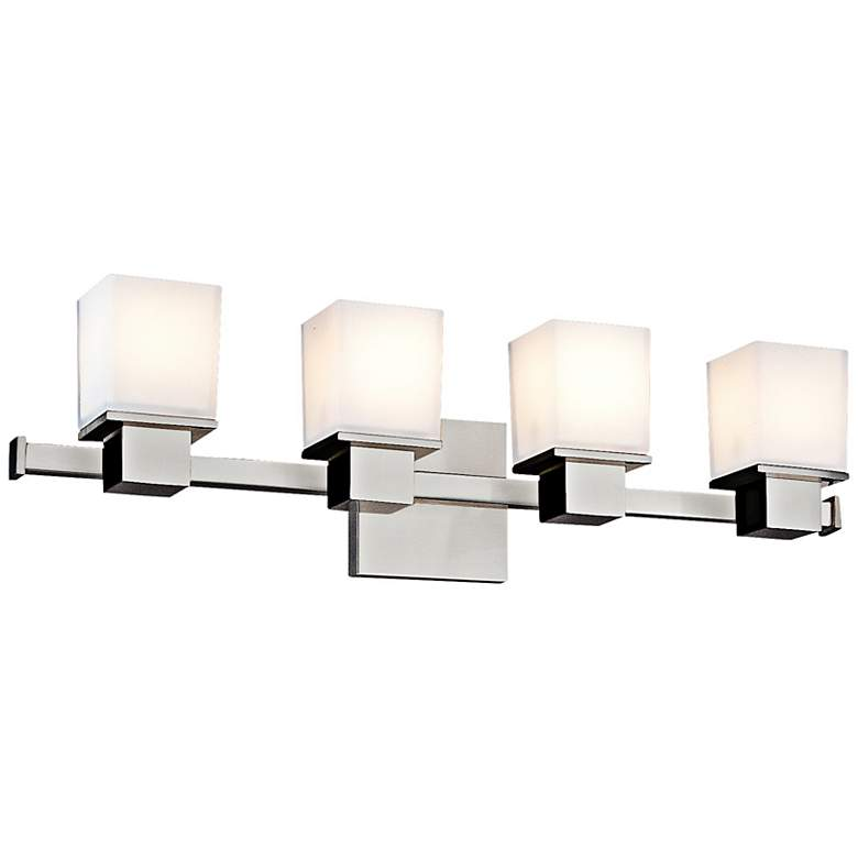 "Hudson Valley Milford 4-Light 24"" Wide Chrome Bath Light"