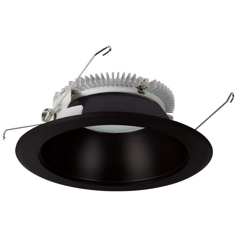 "Nora Cobalt 6"" Black 1500 Lumen LED Round Reflector Trim"