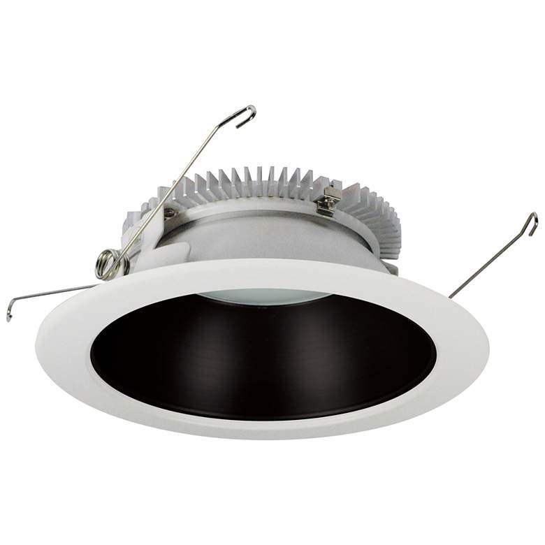 "Cobalt 6"" Black-White 1500 Lumen LED Round Reflector"