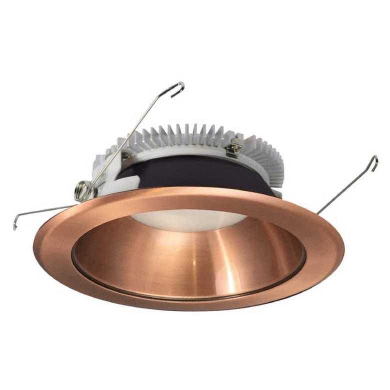 """Nora Cobalt 6"""" Copper 1500 Lumen LED Round"""
