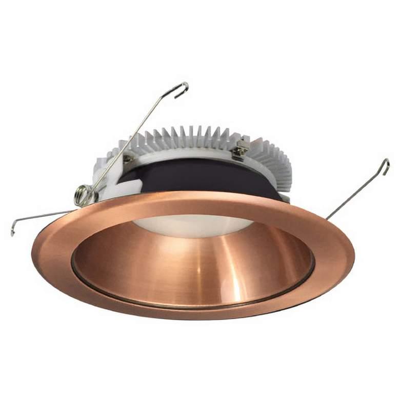 "Nora Cobalt 6"" Copper 2000 Lumen LED Round Reflector Trim"