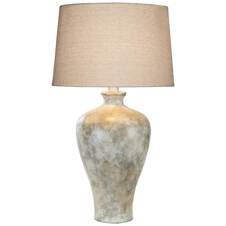 Coraline Alabaster LED Vase Table Lamp
