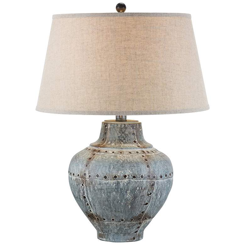Ponte Lore Aged Gray LED Table Lamp