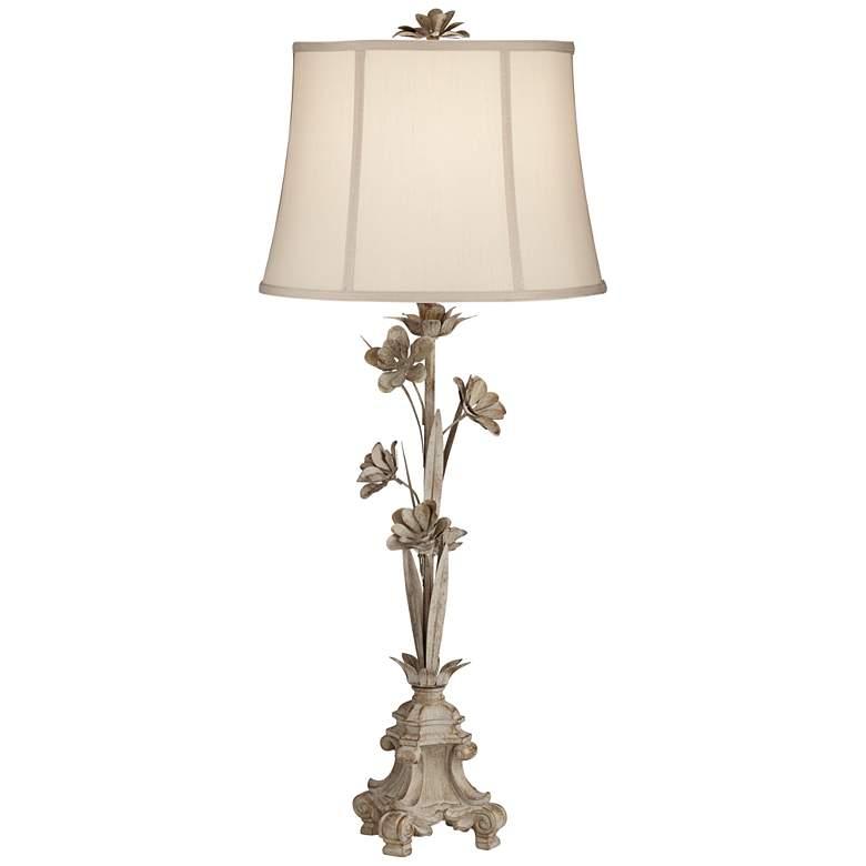 Bella Antique Floral Vine Console Table Lamp