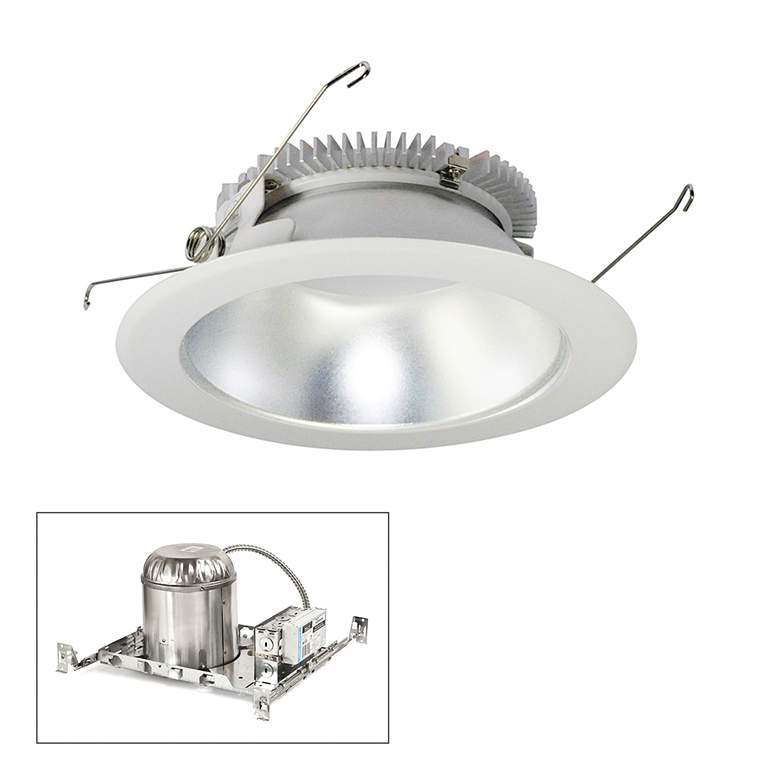 "Cobalt 6"" Clear-White 1500lm LED Round Non-IC Recessed"