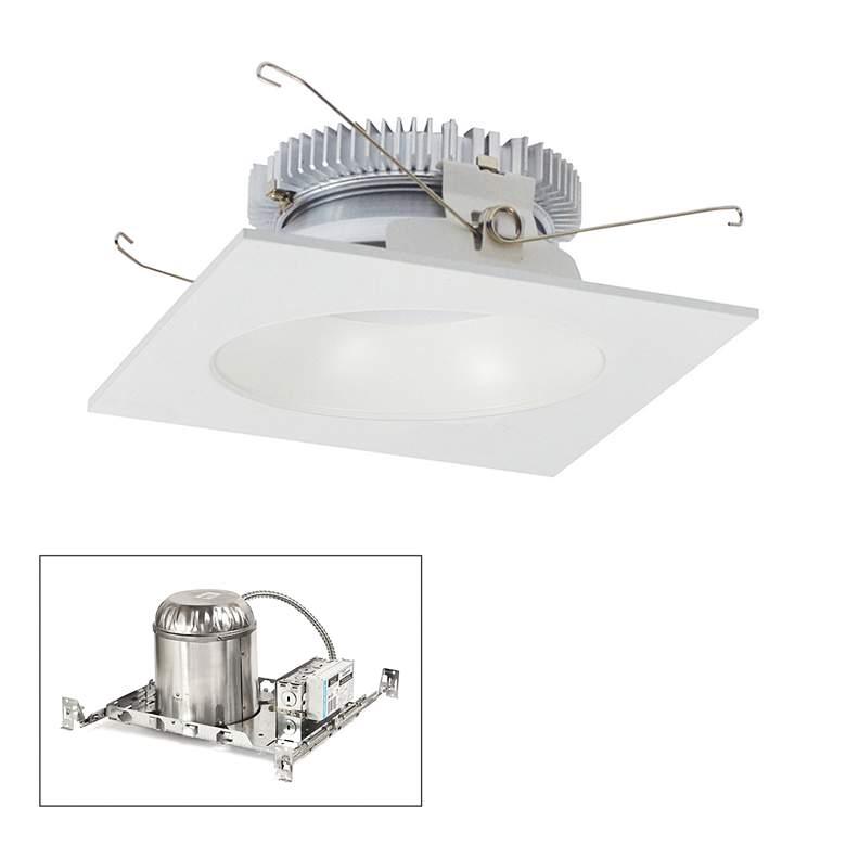 """Cobalt 6"""" White 2000lm LED Square-Round Non-IC Recessed"""