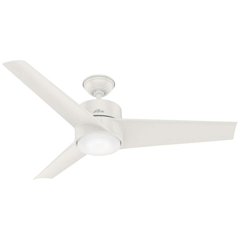 "54"" Hunter Havoc Fresh White Wet Rated LED Ceiling Fan"