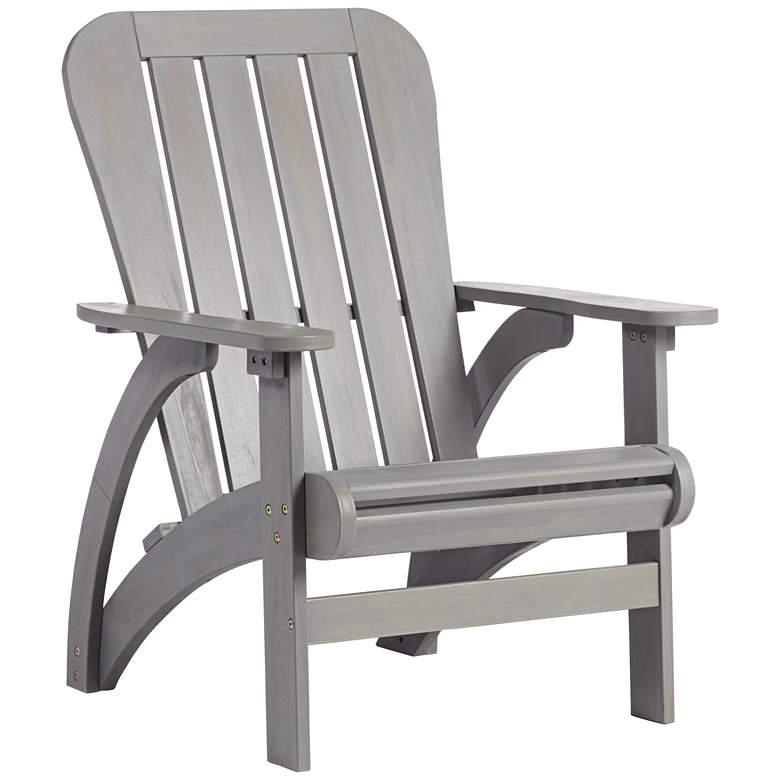 Dylan Gray Wash Wood Adirondack Chair