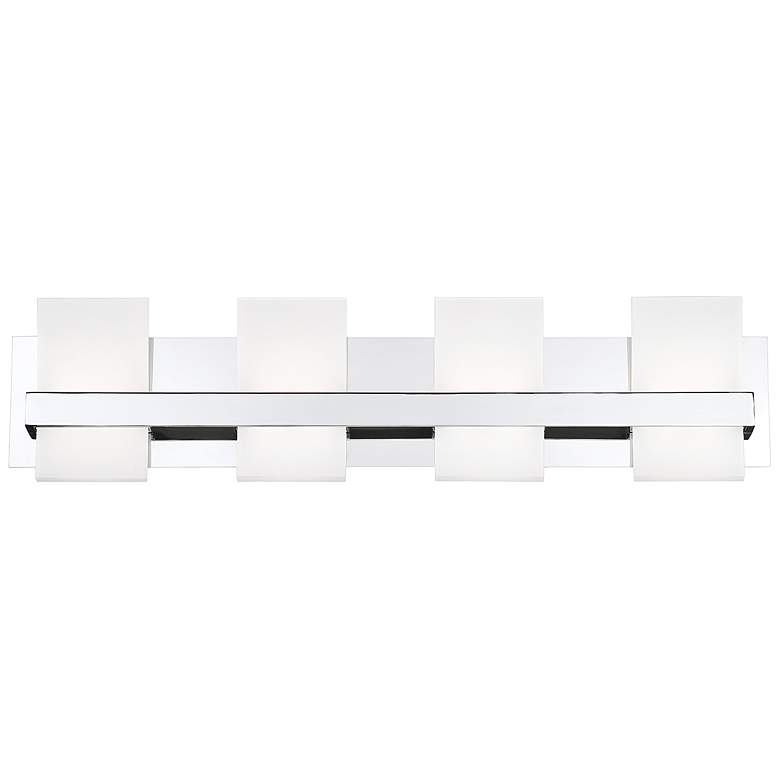 "Eurofase Cambridge 28 3/4""W Chrome 4-Light LED Bath"