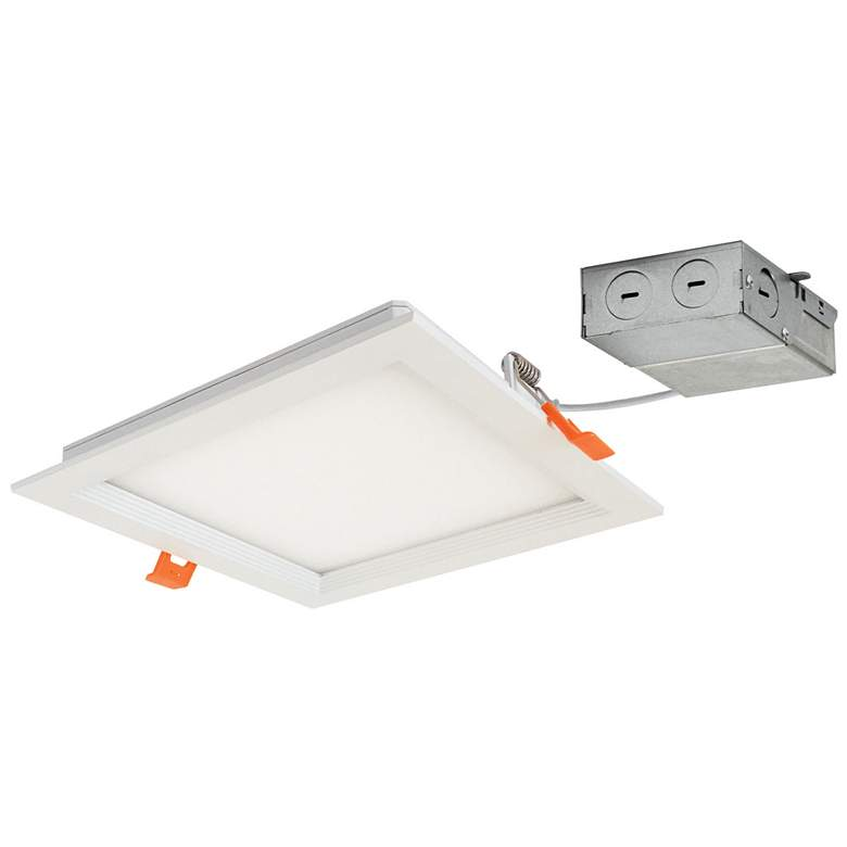 "Nora Flin 6"" Square White IC 1150Lm LED"