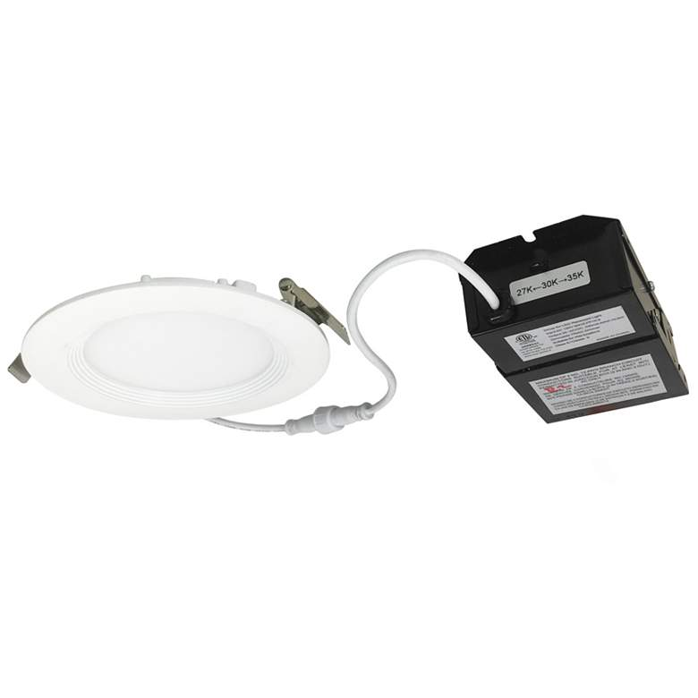 """Nora E-Series Flin 4"""" White Tunable LED Recessed Downlight"""