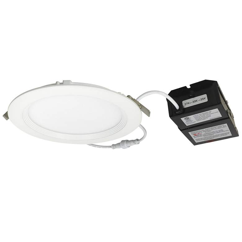 "Nora E-Series Flin 6"" White Tunable LED Recessed Downlight"
