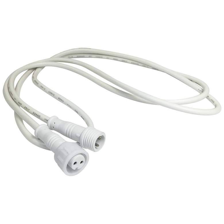 Nora Flin 20' White Quick Connect Linkable Extension
