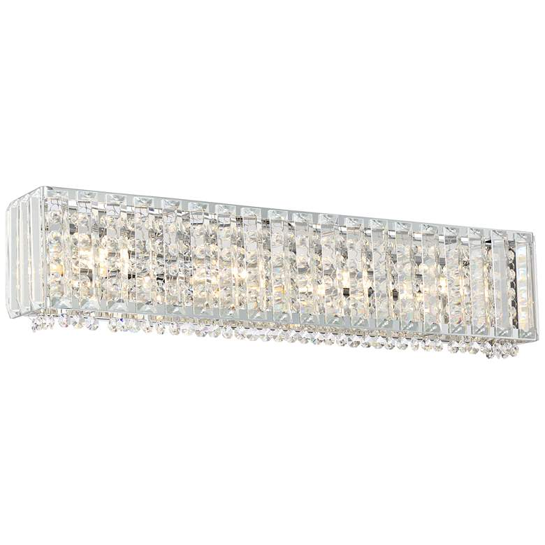 """Neive 24"""" Wide Chrome and Crystal LED Bath"""