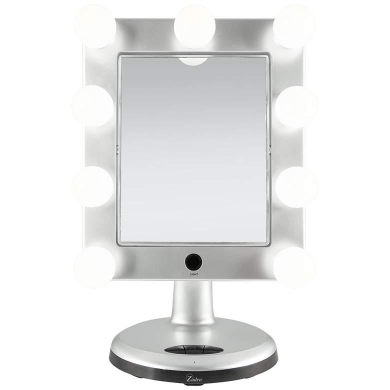"Melrose 10 1/2""W LED Bluetooth Makeup Mirror"