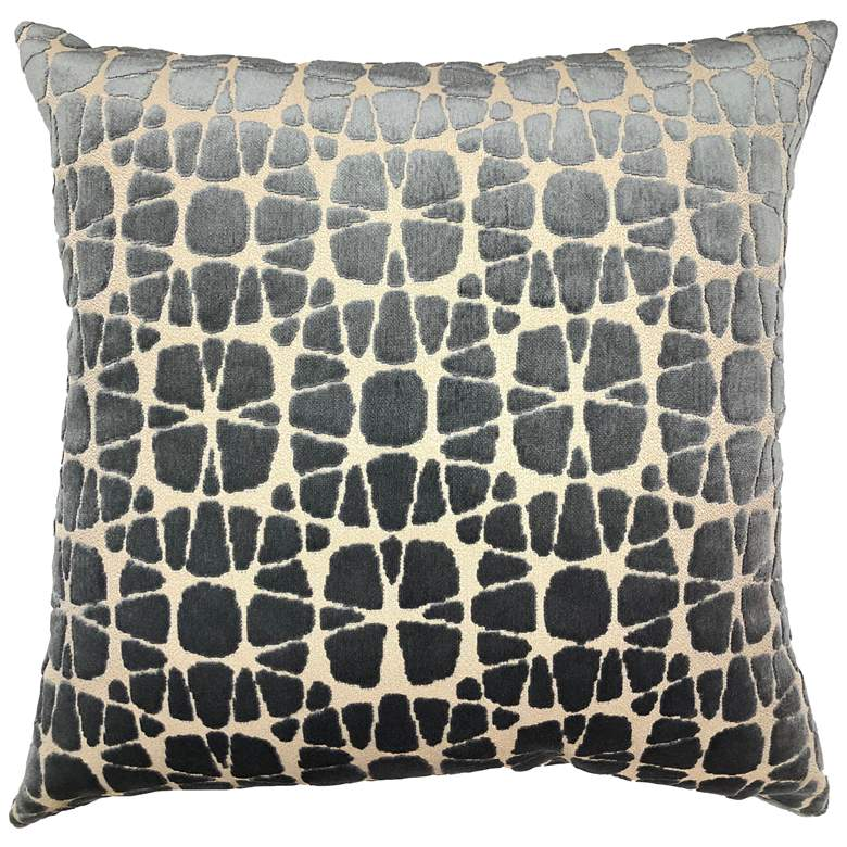 "Nathan Gray 20"" Square Decorative Pillow"