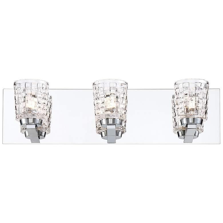 "Eurofase Banbury 19 3/4"" Wide Chrome 3-Light LED Bath Light"