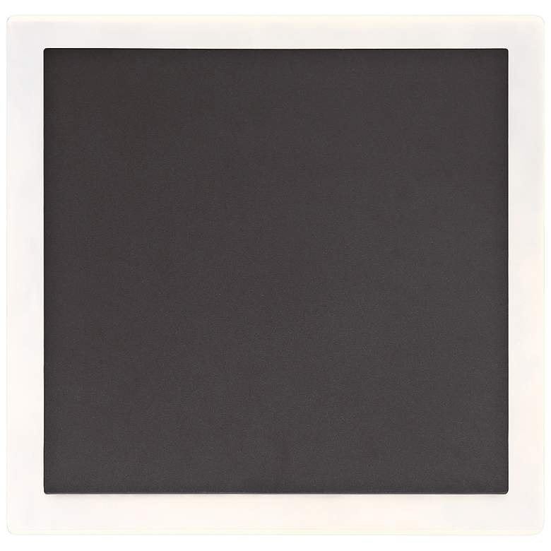 "Eurofase 11 3/4"" Square Graphite Gray LED Outdoor"