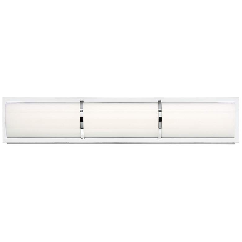 "Eurofase Almore 24"" Wide Chrome LED Bar Bath"