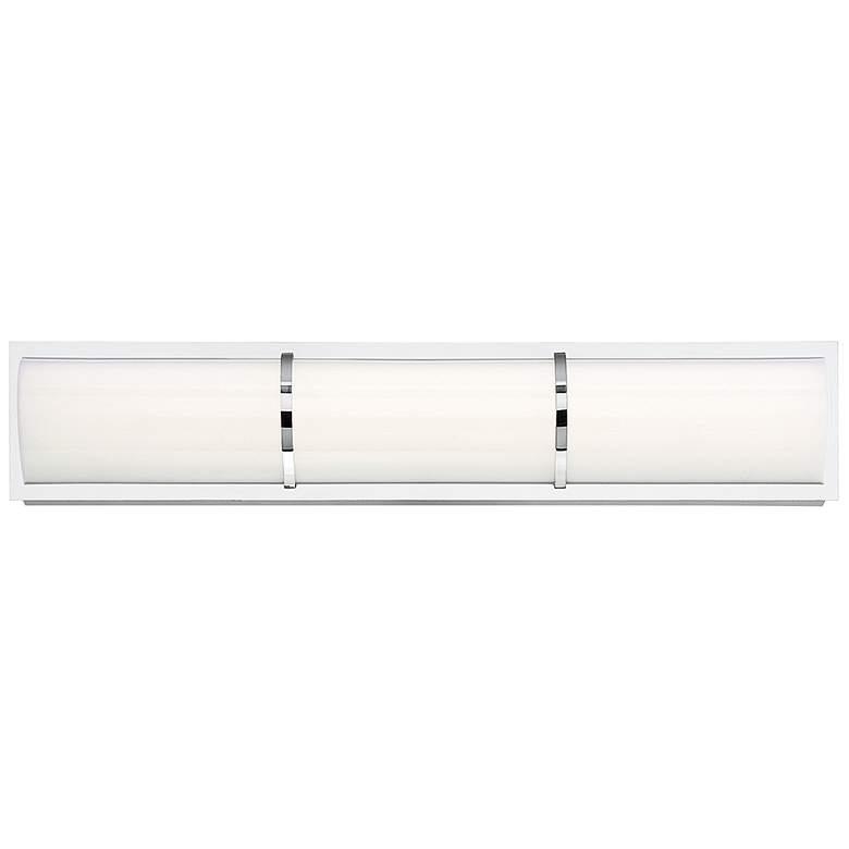 "Eurofase Almore 24"" Wide Chrome LED Bar Bath Light"