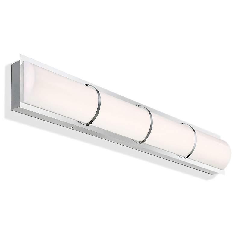 "Eurofase Almore 32"" Wide Chrome LED Bar Bath"