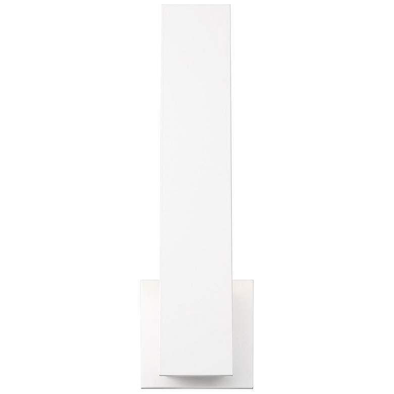 "Eurofase Annette 18"" High White Metal LED Wall Sconce"