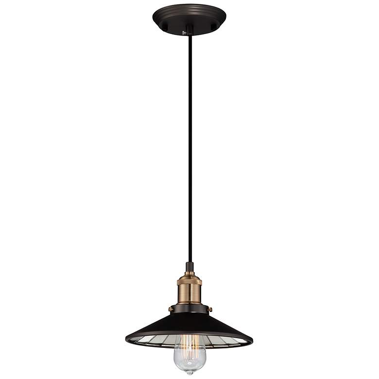 "Emile Urban Industrial 8 3/4"" Wide LED Mini Pendant"