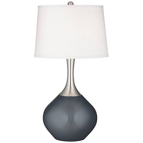Gunmetal Metallic Spencer Table Lamp