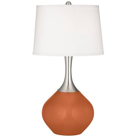 Robust Orange Spencer Table Lamp