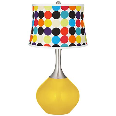 Citrus Multi Mod Circles Shade Spencer Table Lamp